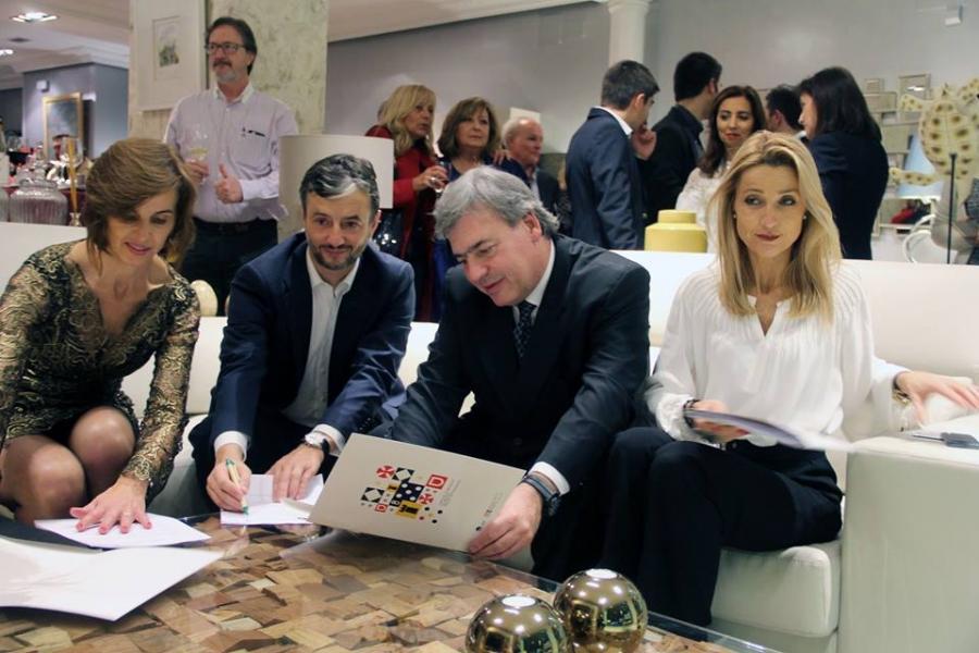 Company with the European Capital of Furniture brand in Zaragoza
