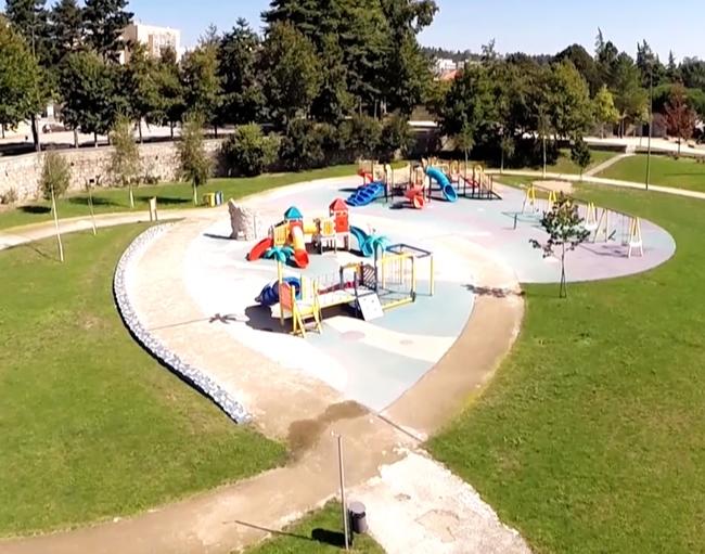 Paços de Ferreira city Park