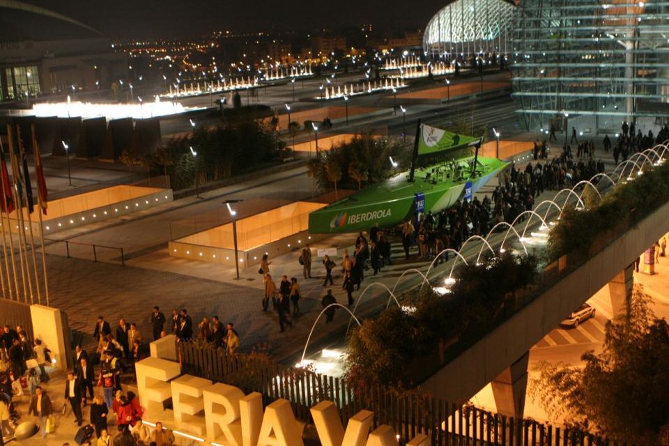 Europäische Hauptstadt der Möbel in der internationalen Messe von Valencia